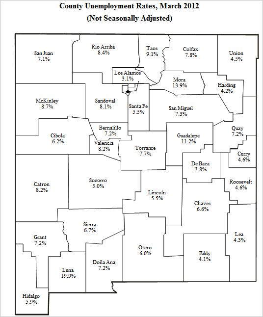 New Mexico Unemployment Tax Rate | New Mexico Unemployment Rate
